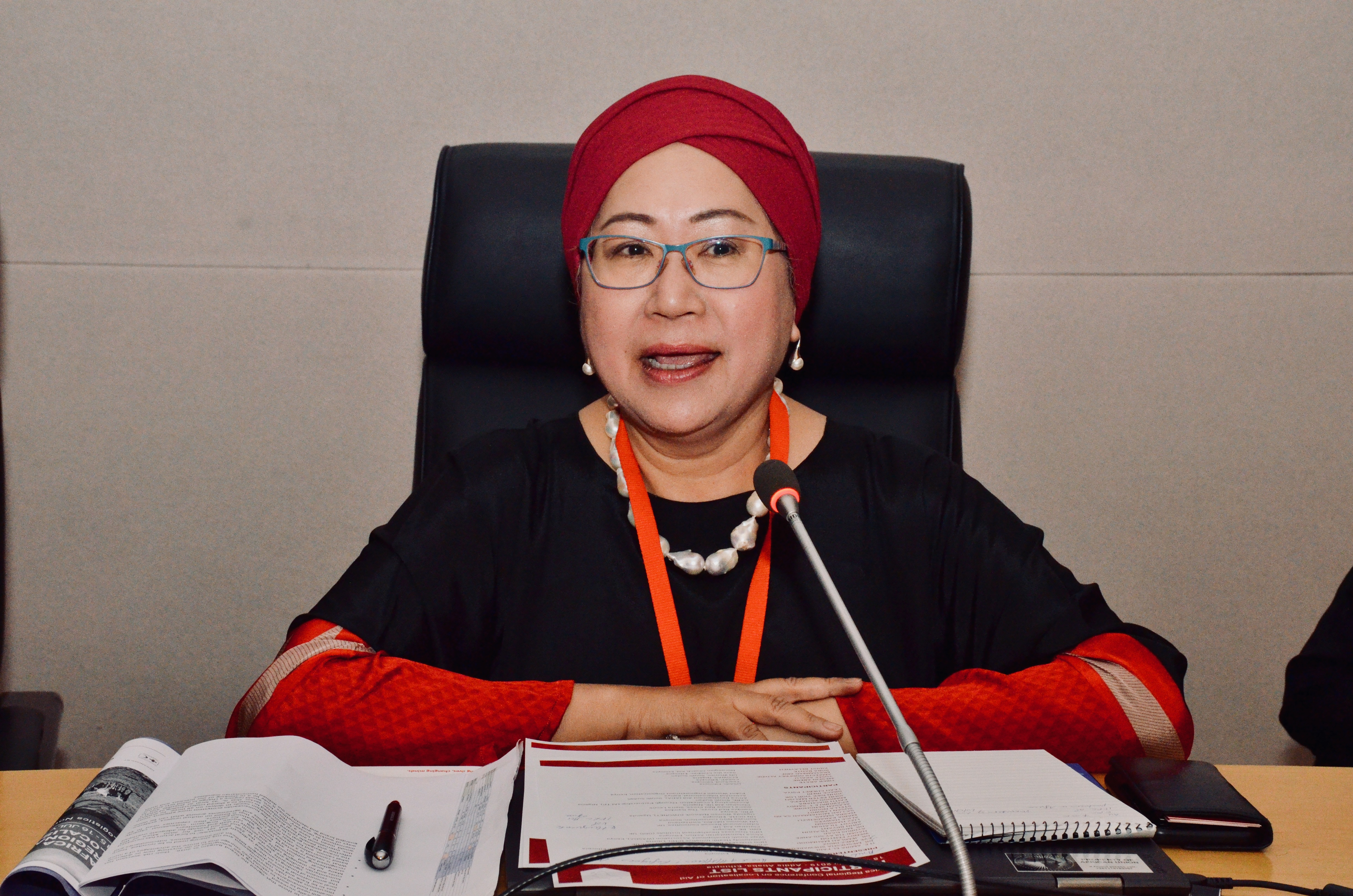 Africa Regional Conference on Localisation Day 1 Opening Session Plenary - Jemilah Mahmood