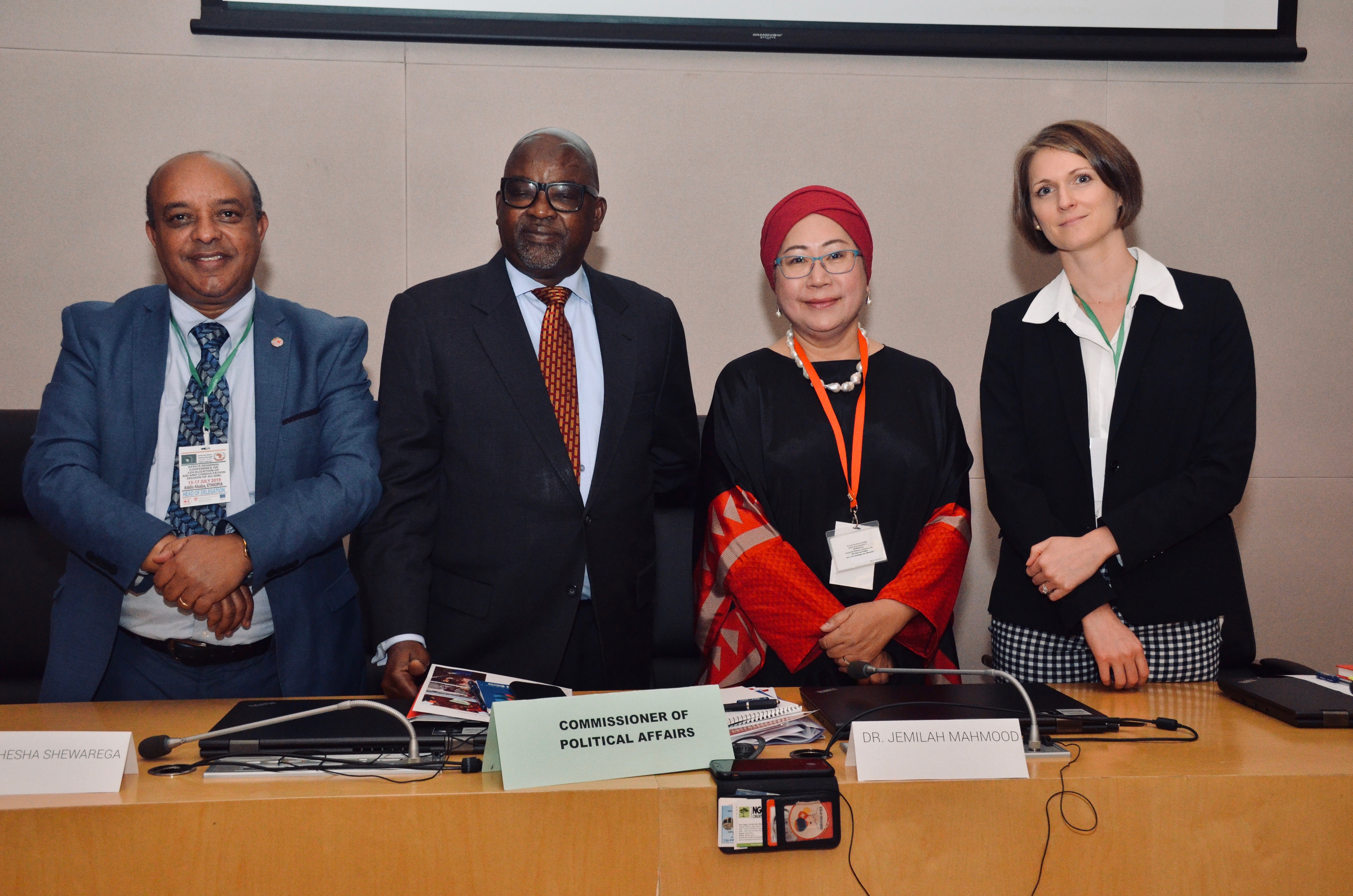 Africa Regional Conference on Localisation Day 1 Opening Session Plenary - Speakers 2