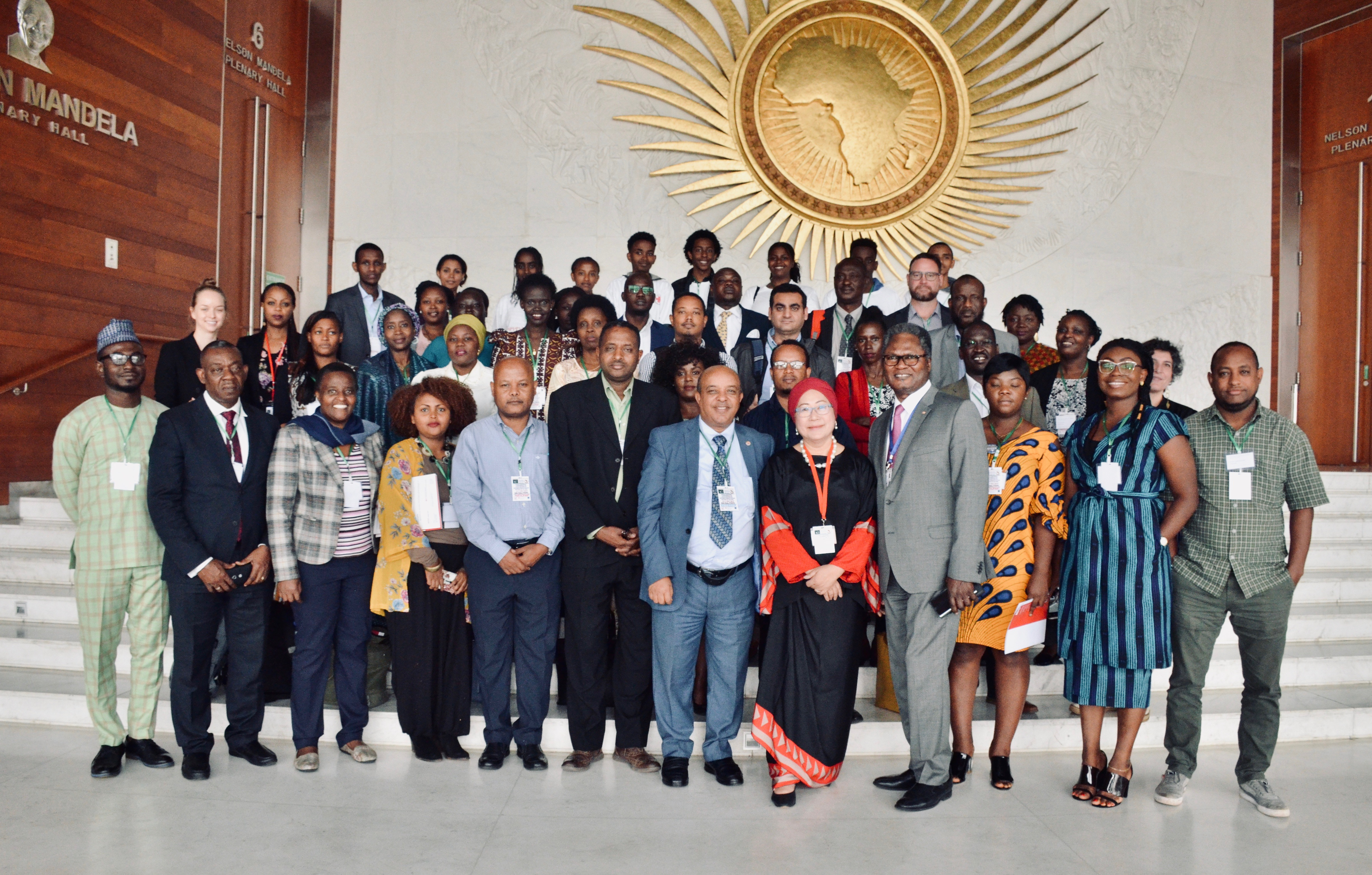 Africa Regional Conference on Localisation Day 1 Group Photo
