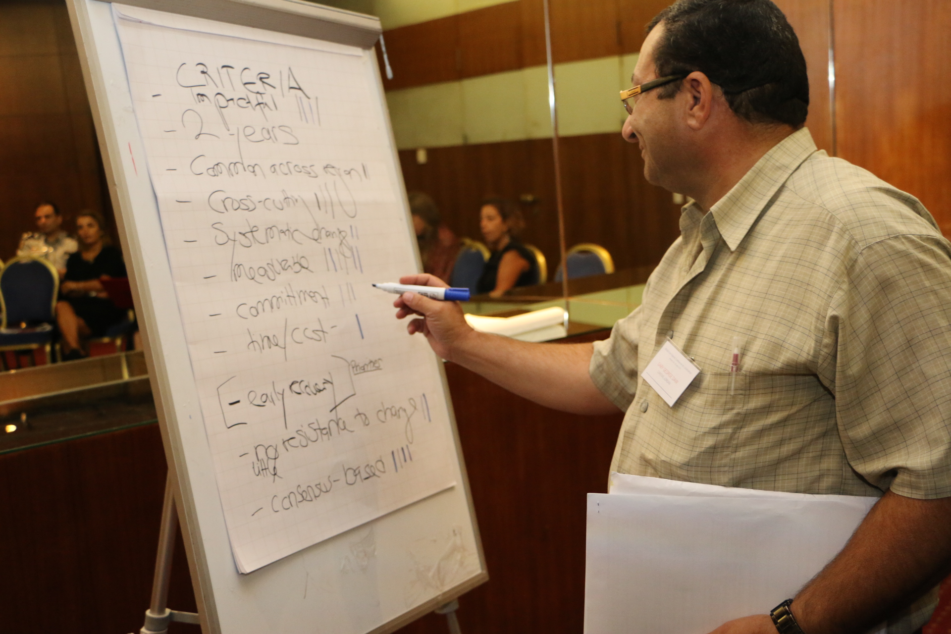 Middle East Regional Conference on Localisation - Day 2 - Group Discussions - 1